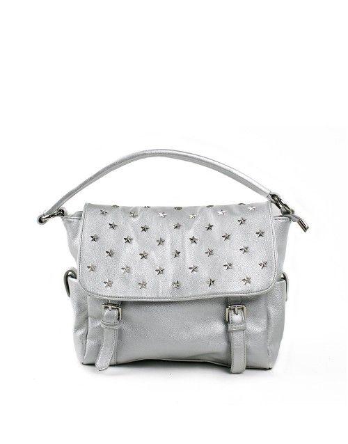 Τσάντα χειρός stars - Ασημί 35,99 €