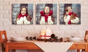 """Groupon - One, Two, or Three 12""""x12"""" Custom Photo Canvas Prints from Picture.com (Up to 89% Off). Groupon deal price: $7"""