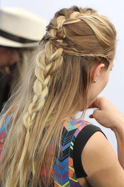 Braided Hairstyles, Saç Örgü Modelleri, Ünlülerin Son Moda Saç Örgüleri - kbell | SadeKadınlar - Güzellik Sırları