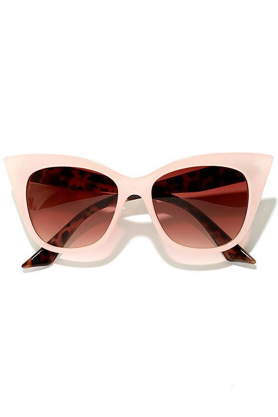c97e9c7c83ab Go ahead and let them stare when you slip on the Flamboyant Tortoise and  Pink Cat Eye Sunglasses! Sleek Pink frames with tortoise arms have a  retro-inspired ...