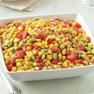 Del Monte®  Recipes  Cheddar Corn Casserole