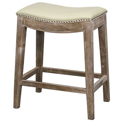 24 Quot Bar Stool Upholstery Gray And Cushions