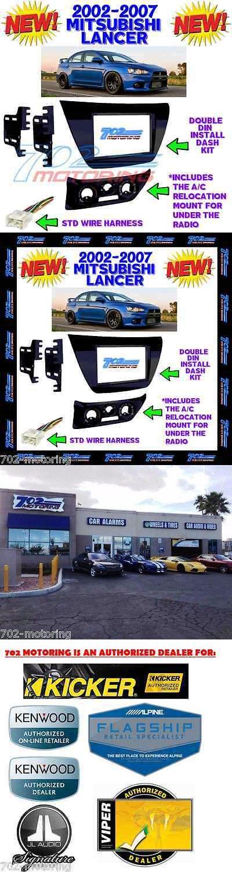 Dashboard Installation Kits: New! Mitsubishi Lancer 2002-2007 Aftermarket Radio Stereo Installation Dash Kit -> BUY IT NOW ONLY: $45.88 on eBay!