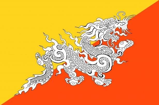 12 Reasons Why I Have Visited The Kingdom Of Bhutan Bhutan Flag Bhutan National Symbols