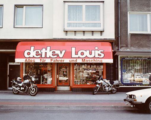 Detlev Louis - 1981 in Hannover  #Motorrad #Motorcycle #Motorbike #louis #detlevlouis #louismotorrad #detlev #louis