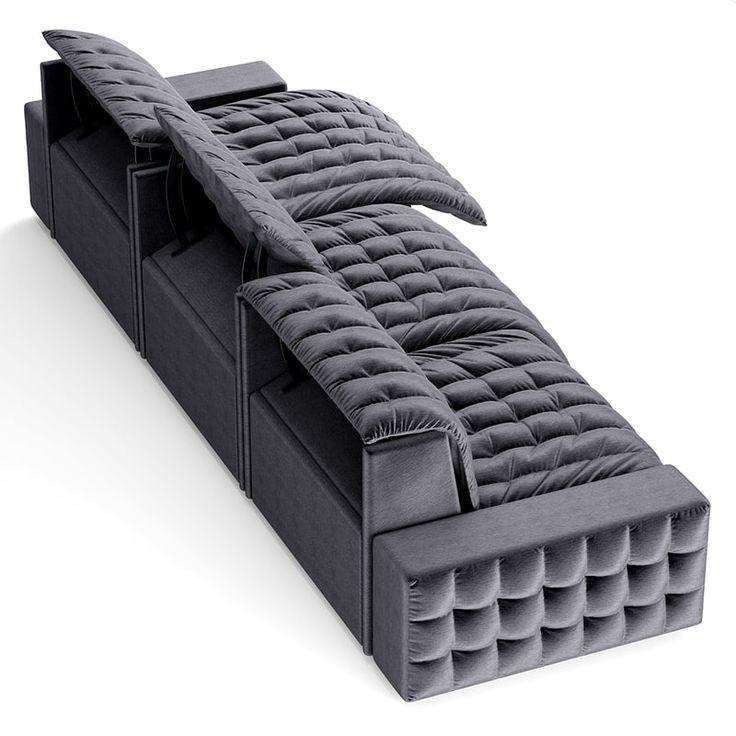 sofa seat interview 3d model Mobilya, Kanepeler, Koltuklar