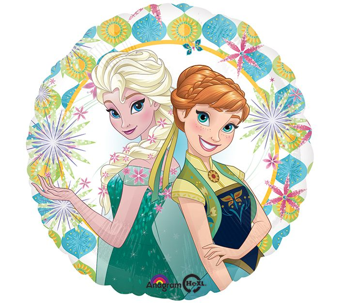 """Frozen Fever"" starts today in theaters with Cinderella! #burtonandburton #frozen #frozenfever #balloons @balloongram"