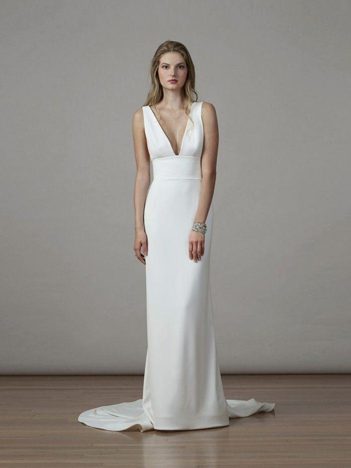 ▷ 1001 + ideas de vestidos de novia sencillos para tu boda | dresss
