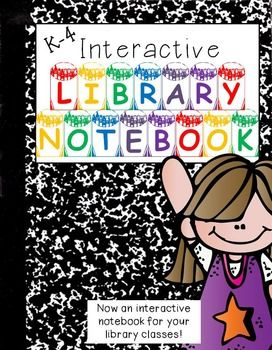 The Interactive Notebook taken to a NEW LEVEL.  Now one for the Teacher Librarian.  This notebook is great for any elementary teacher librarian that teaches classes.  Use as an anchor to teach information skills as well as a reference tool for students to go back to over and over.