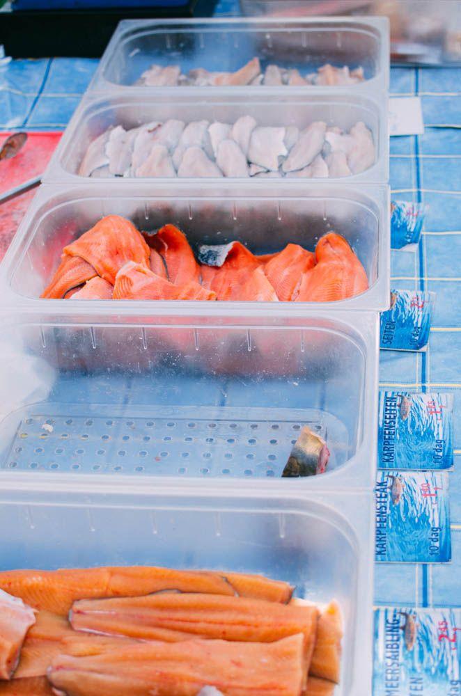 Frischer Fisch vom Markt