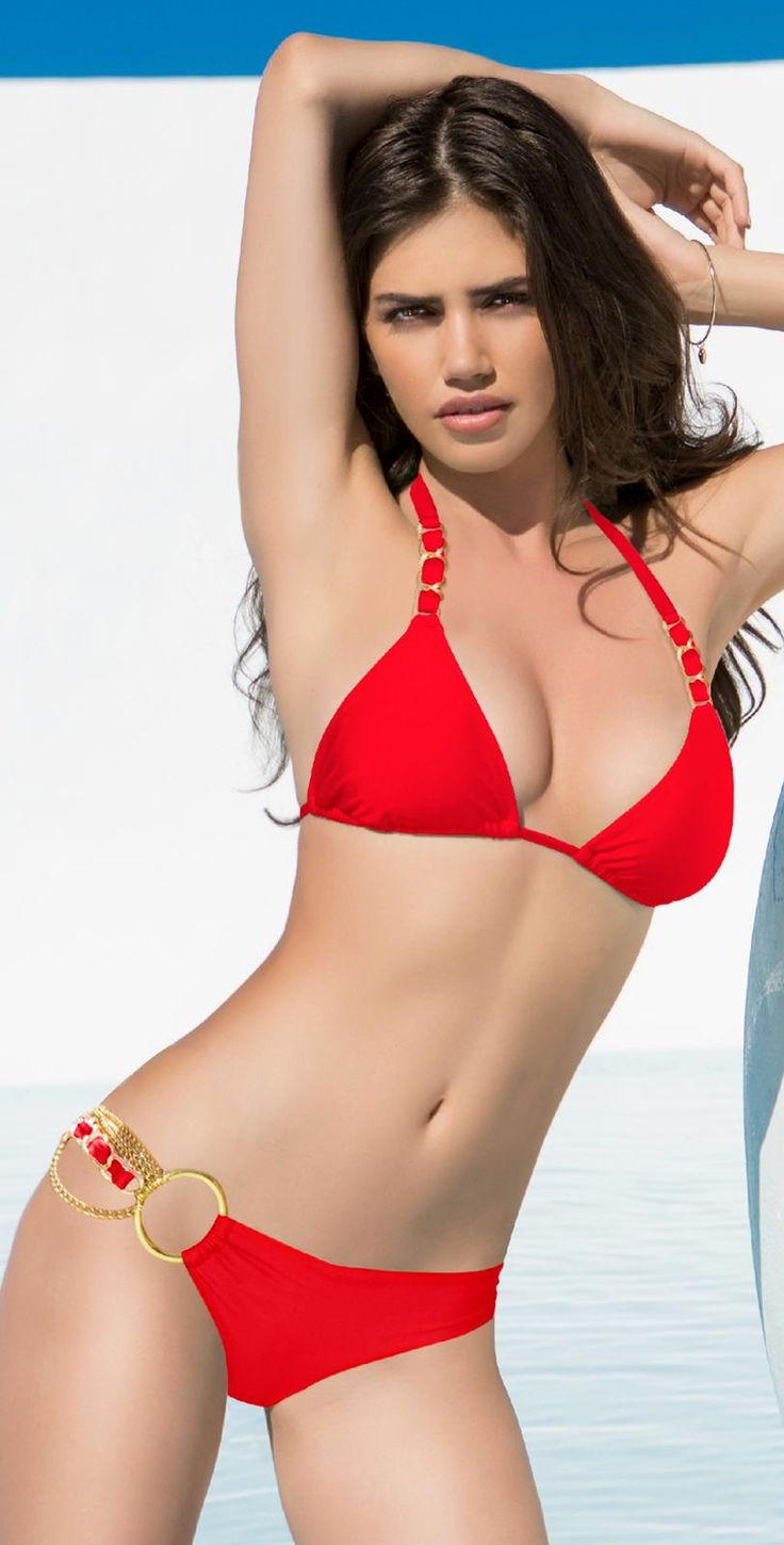 Women In Red Bikini 82