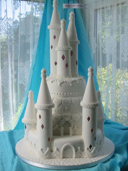 Toothfairy Loves This Fairy Castle Cake From