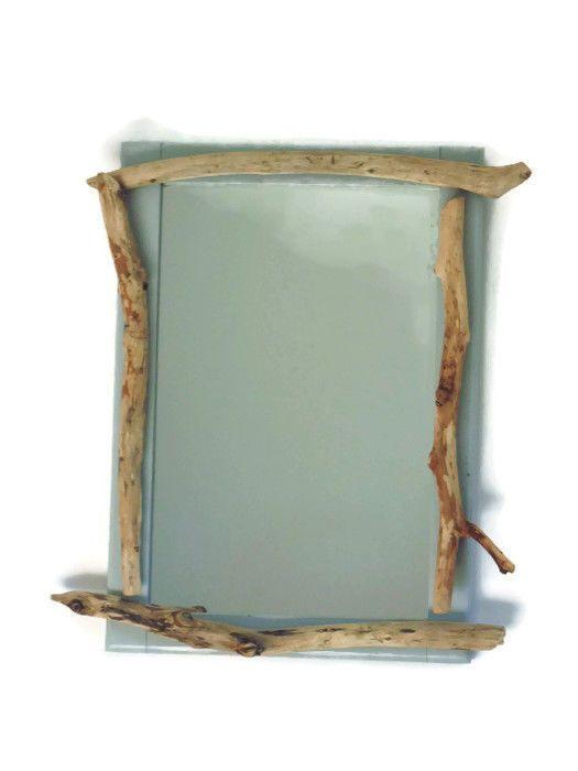 plus de 25 id es uniques dans la cat gorie miroir en bois. Black Bedroom Furniture Sets. Home Design Ideas