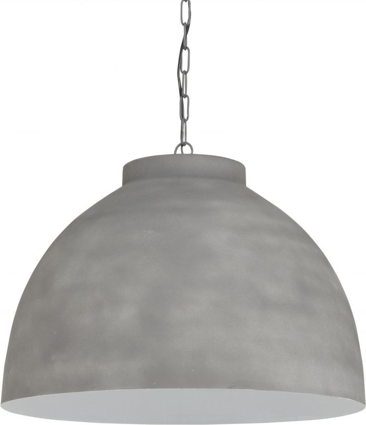 Hanglamp Kylie - Wit - Cement - Extra Large - Light & Living