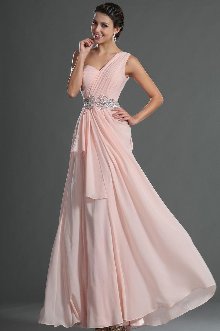 Turmec baby pink one shoulder bridesmaid dresses baby pink one shoulder bridesmaid dresses baby pink one shoulder bridesmaid dresses ombrellifo Images