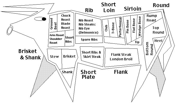 Venison Cut Chart Homesteading Pinterest Auto Electrical Wiring Rhinstaimageooo: 12kb Ford Mustang Need Wiring Diagram From Fuel Pump At Gmaili.net