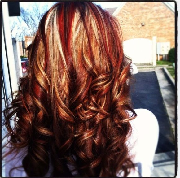 Red & blonde MY FAVE so far!