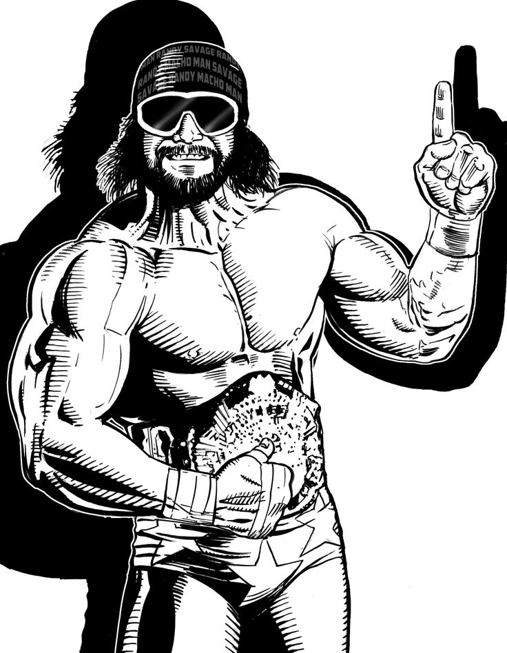17 Best Images About Ultimate Warrior Macho Man Randy Savage On Pinterest