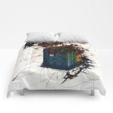 Tardis Abstract Comforters