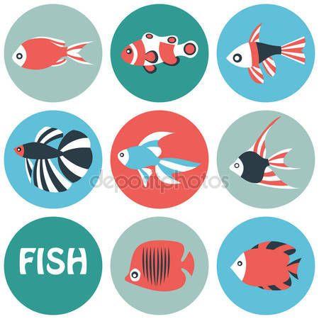 Risultati immagini per pesce stilizzato