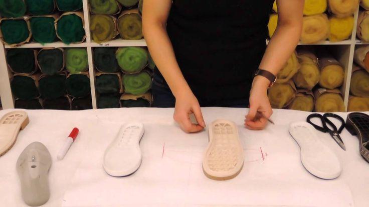 Марина Климчук - как выбрать подошву для изготовления валяной обуви