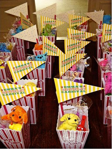 Great favor idea for any kids party can get this stuff cheap at oreiental trading kids - Cheap circus decorations ...