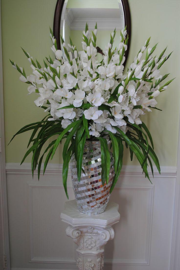 25 best ideas about gladiolus arrangements on pinterest for Ideas for floral arrangements