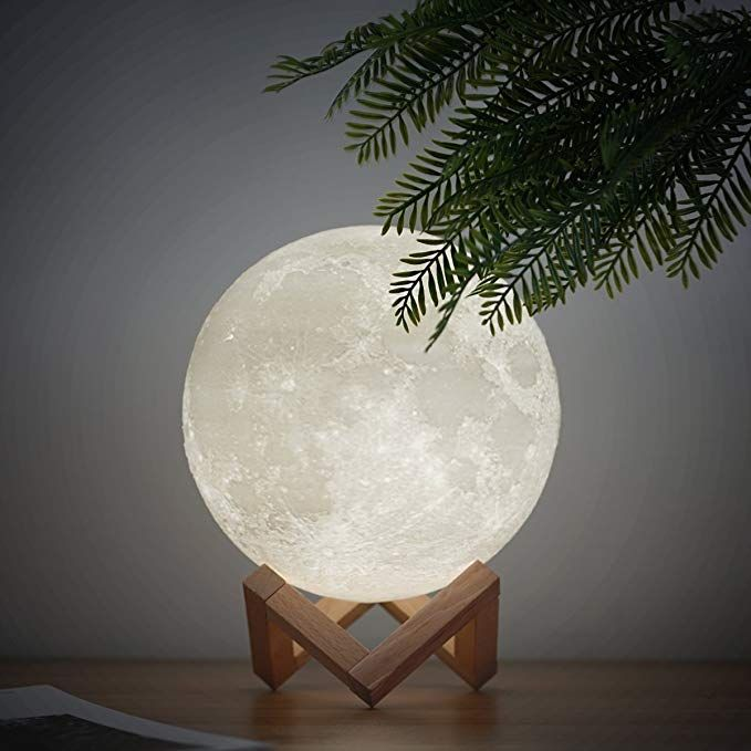 Amazon Com Mydethun Moon Light Night Light For Kids Gift For Women Moon Lamp Usb Charging And Touch Control Brightness T Night Light Gifts For Kids Cool Stuff