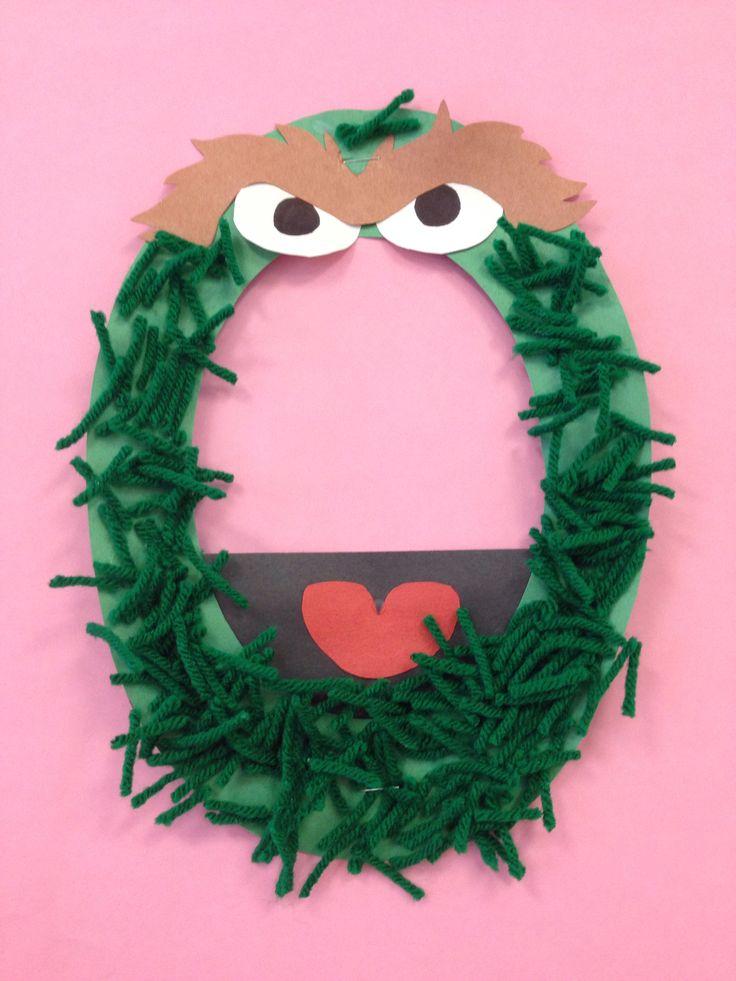 Letter O Oscar Preschool Craft