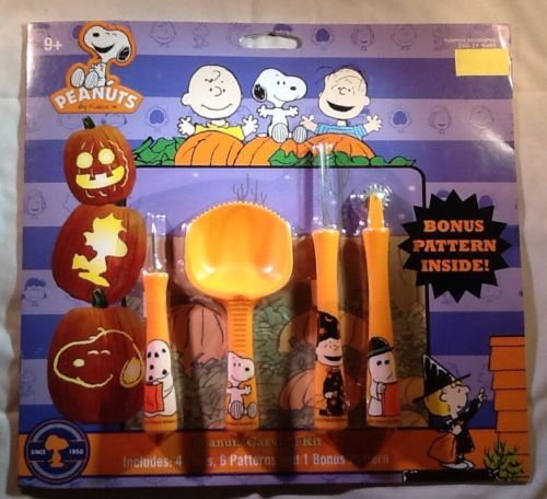 Its The Great Pumpkin Charlie Brown Quotes: Peanuts Snoopy Charlie Brown Pumpkin Carving Kit 11Pc