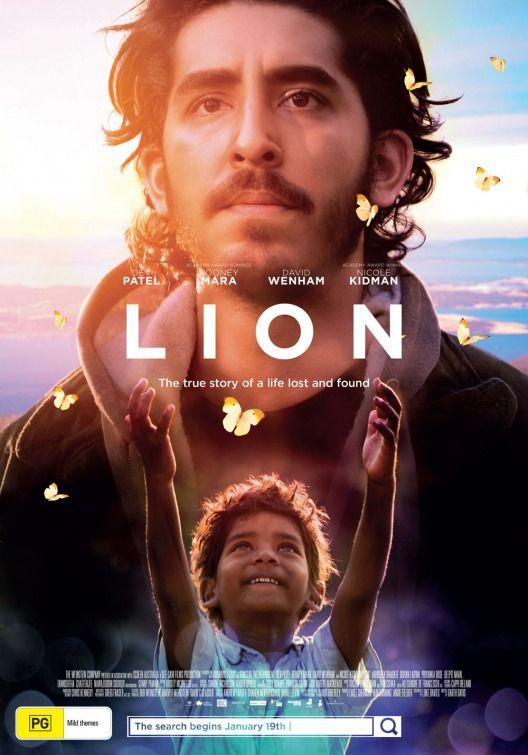 """Lion"" (2016) starring Sunny Pawar and Dev Patel"