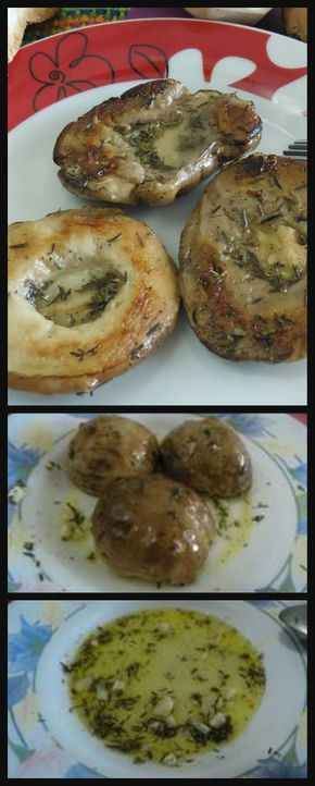 Funghi porcini marinati alla griglia , buonissimi ! #ricettegustose #ricette #gustose #recipe #receta #food