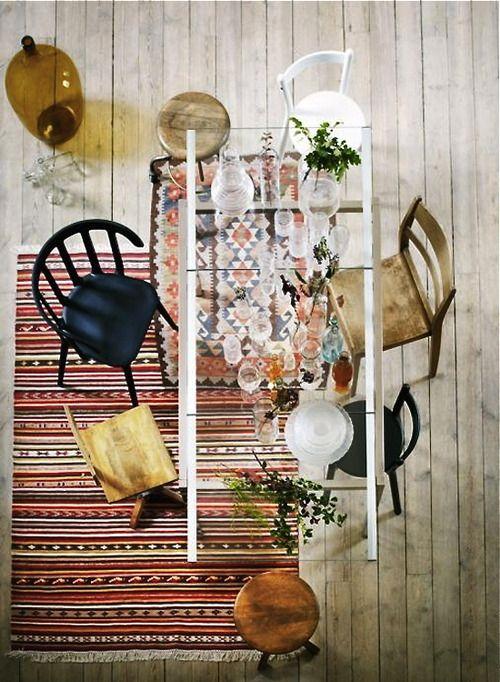 Interior Design dining room table