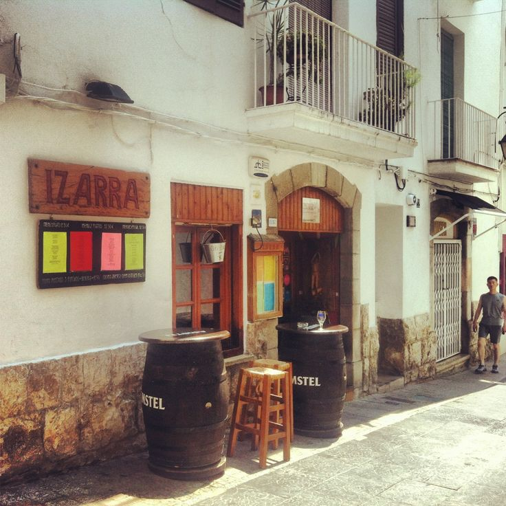 Bar Izarra Sitges, Spain A great hole-in-the-wall serving tasty pintxos #travelnewhorizons