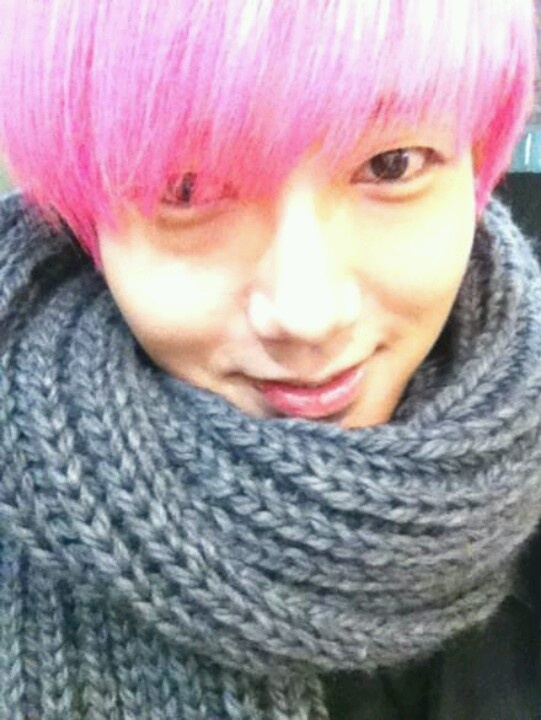 Beautiful hair color #yesung