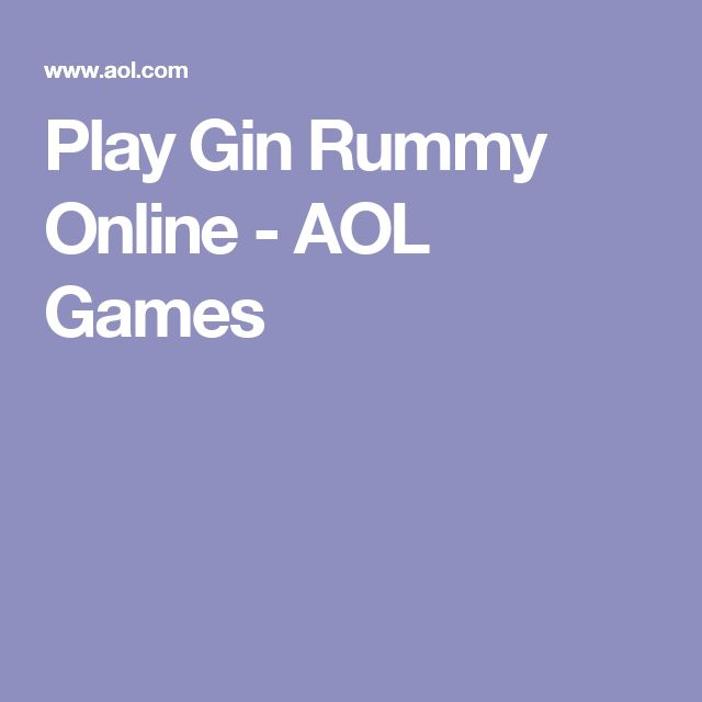 how to play gin rummy rules