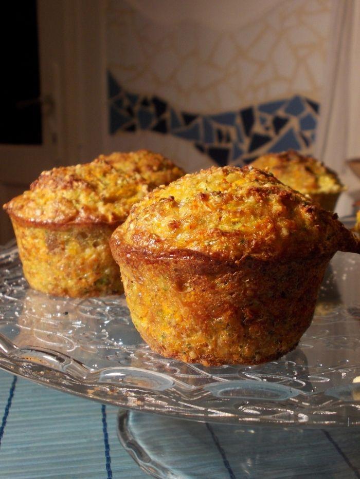 """Zöldséges """"túlélő"""" muffin :: Paleország :: Recepttár"""