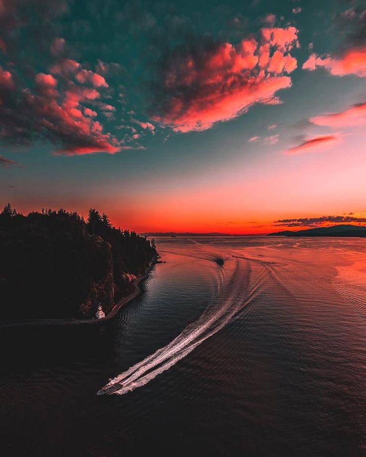 Vancouver skies #samesunvancouver #sky #redsky