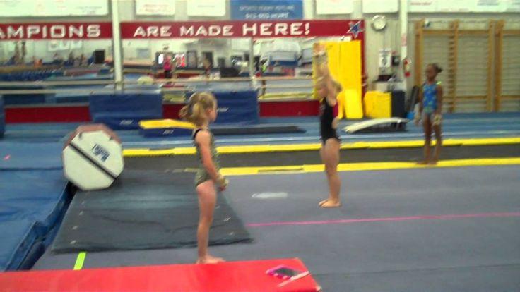 Cincinnati Gymnastics Roundoff