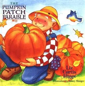 A very sweet story ending with a carved pumpkin shining its light into the world. Bible verses throughout!