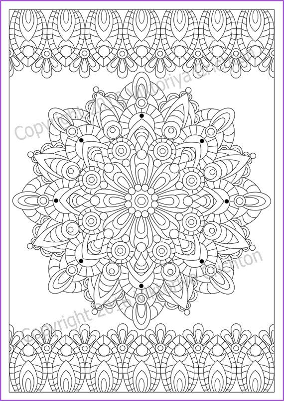 Print A4 paper, paint the Mandala (zendala) as you like, insert a picture in a frame - and you re ready to picture that you can give to friends or loved ones for any occasion or just hang out in your room. Instantly downloadable file to your device allowing you to print at home or at your local printing shop in any size. All digital designs are high quality 300 DPI resolution images in JPEG format. Print sizing chart: A4 297 x 210 mm (11.7 x 8.27) PDF file you download without watermark and…