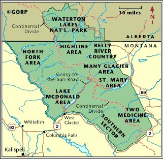 Best Waterton National Park Ideas On Pinterest Natural - Wall map of us national parks