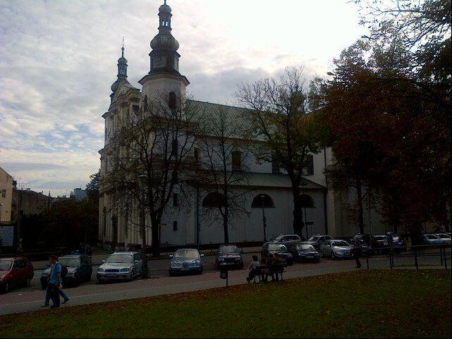 Klasztor i kościół OO. Bernardynów – codziennie modlimy się tutaj na Mszy świętej / The monastery and church of franciscans – we pray here everyday during the Eucharist