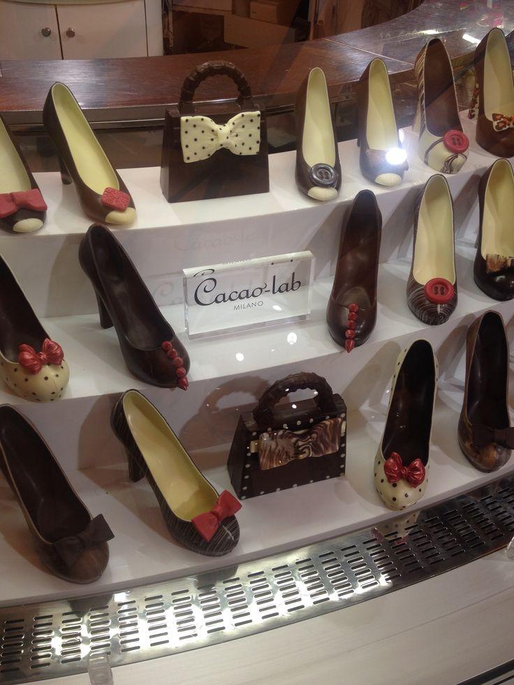 Milan chocolate shoes...