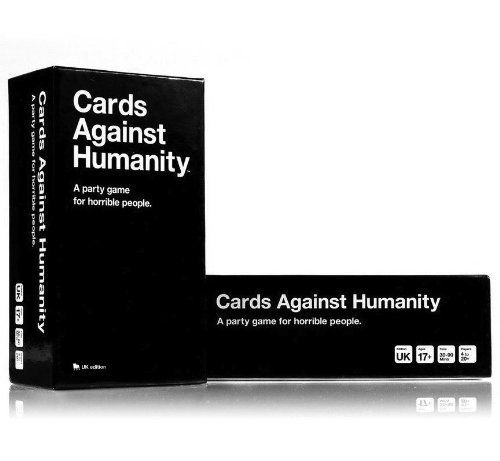 Cards Against Humanity: UK edition Cards Against Humanity http://www.amazon.co.uk/dp/B00DTXYCOU/ref=cm_sw_r_pi_dp_3fmSvb0KCVDZE