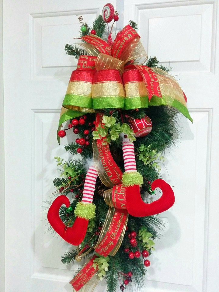 17 best images about christmas wreaths swags garlands for Christmas swags and garlands to make