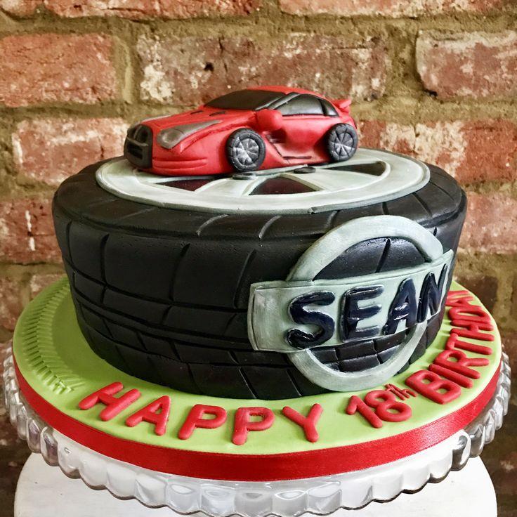 Nissan GTR Chocolate Cake