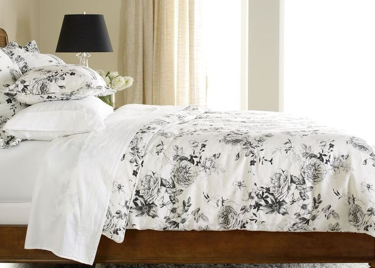Ava Rose Linen Duvet Cover