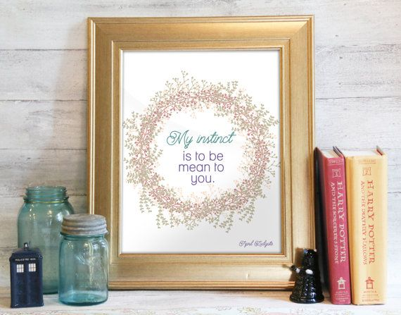April Ludgate Quote April Ludgate Print Parks and by PaperYarnMoon