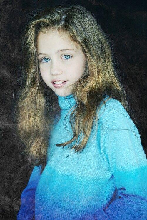 Cute Baby Miley